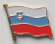 Slovenia Country Flag Enamel Pin Badge